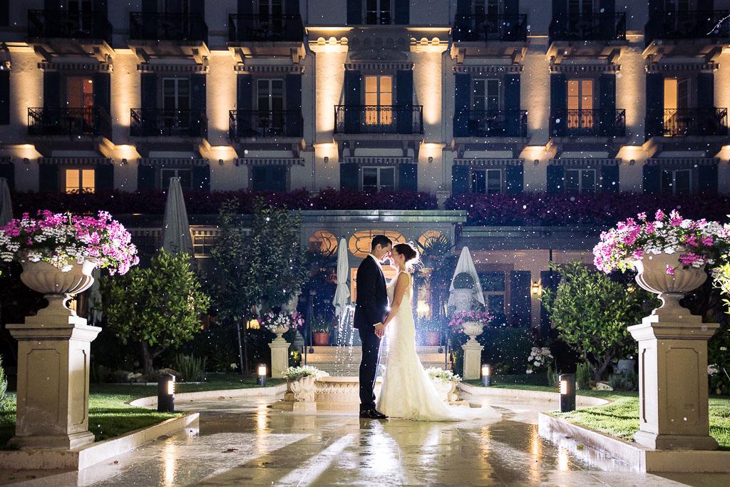 Mariage au grand hotel du lac