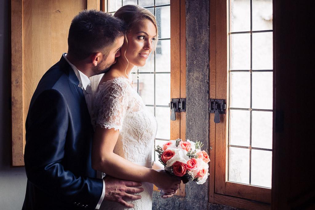 photographe de mariage au chateau d'aigle