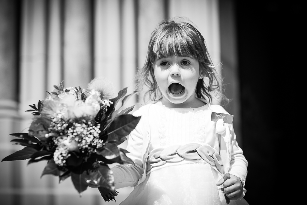 Petite invitée du mariage