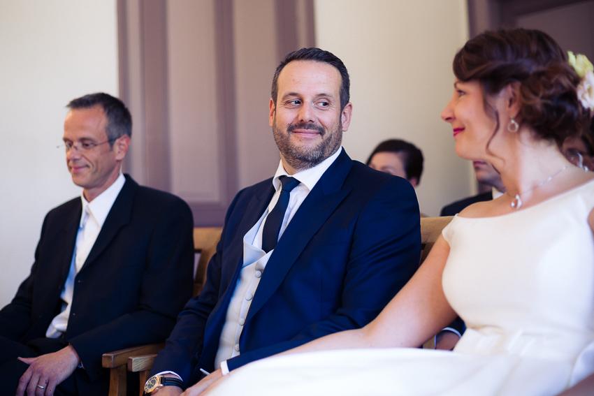 Un mariage à l'etat civil de bienne