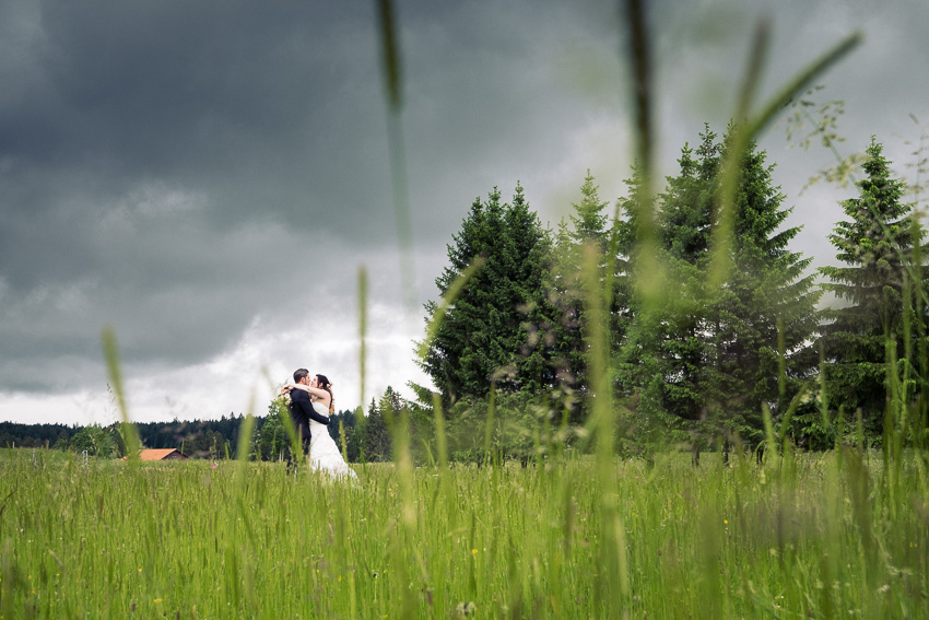 un mariage champetre