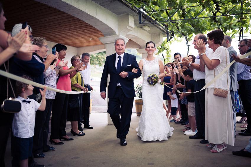 mariage dans le Lavaux