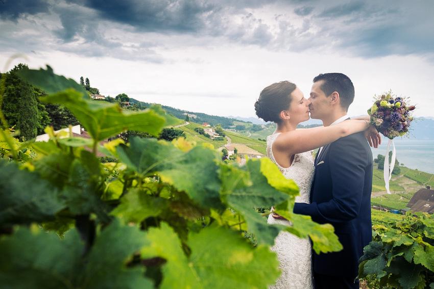 mariage dans le vignes du Lavaux