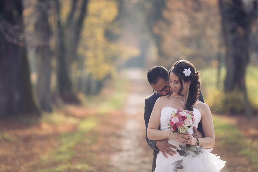 Une photo glamour du couple aux portes des iris