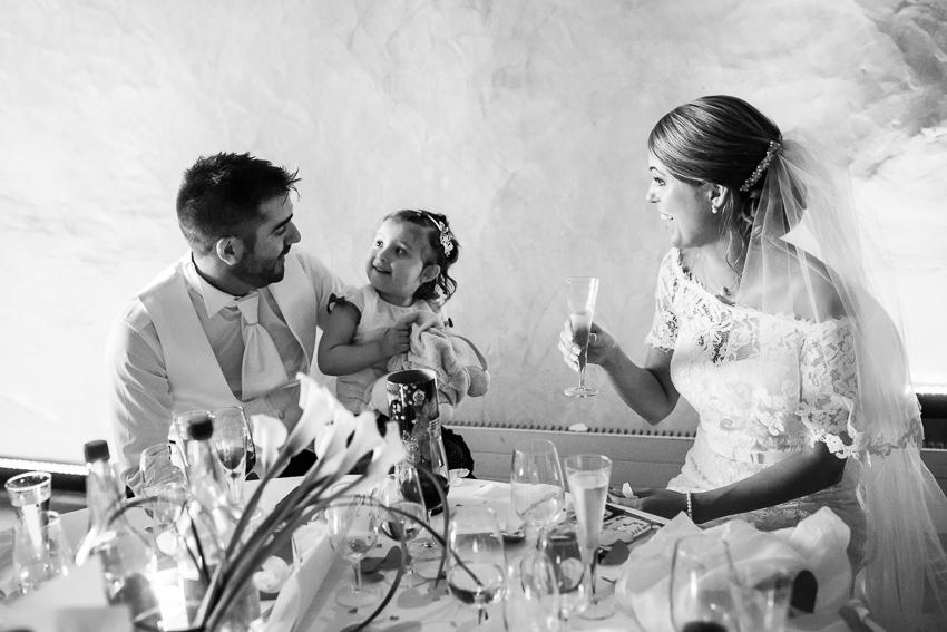 photo romantique de mariage