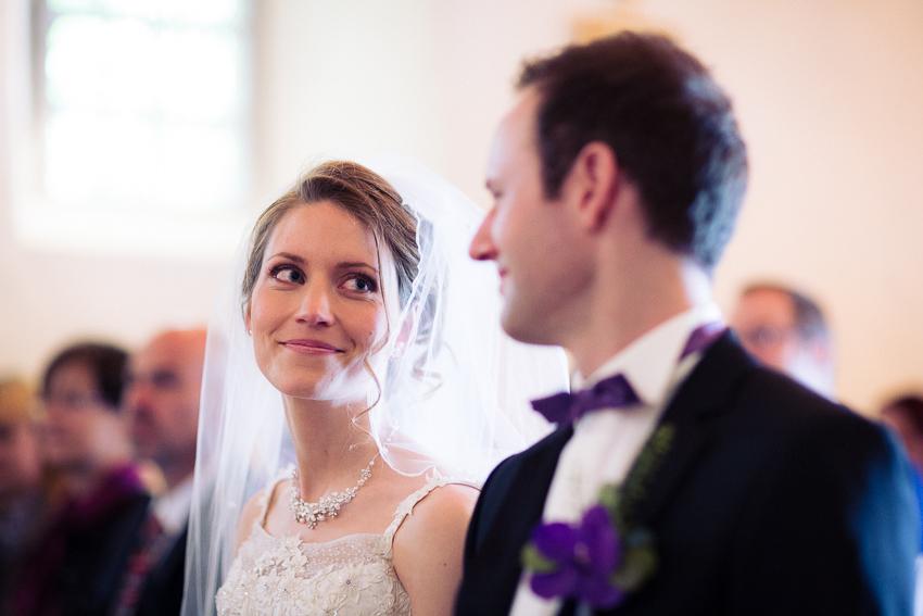 un regard complice lors d'un mariage canton de fribourg