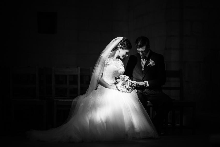 Mariage religieux dans une abbatiale