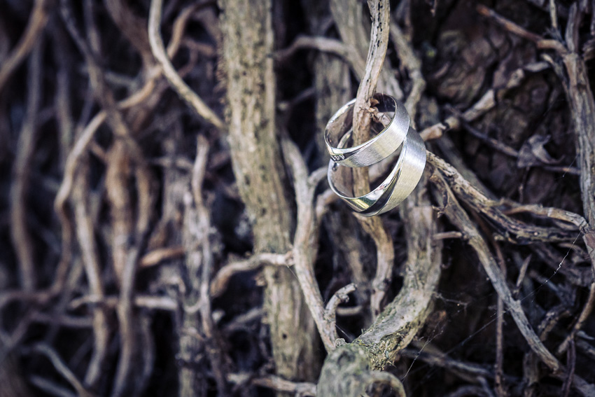 ceremonie de mariage à l'exterieur