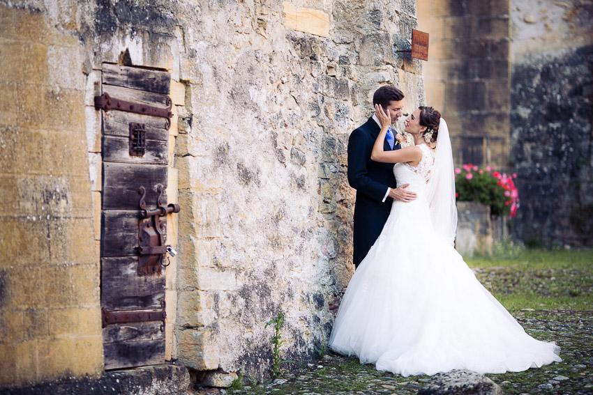 cérémonie de mariage à romainmotier