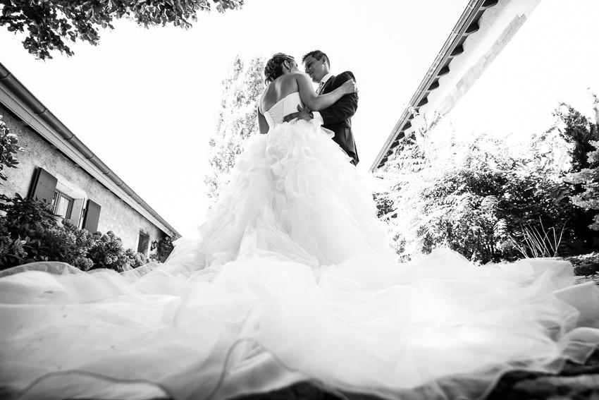 ceremonie de mariage à l'éxterieur
