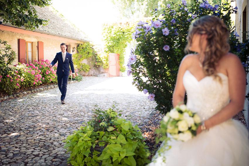 ceremonie mariage à l'abbaye de Bevaix
