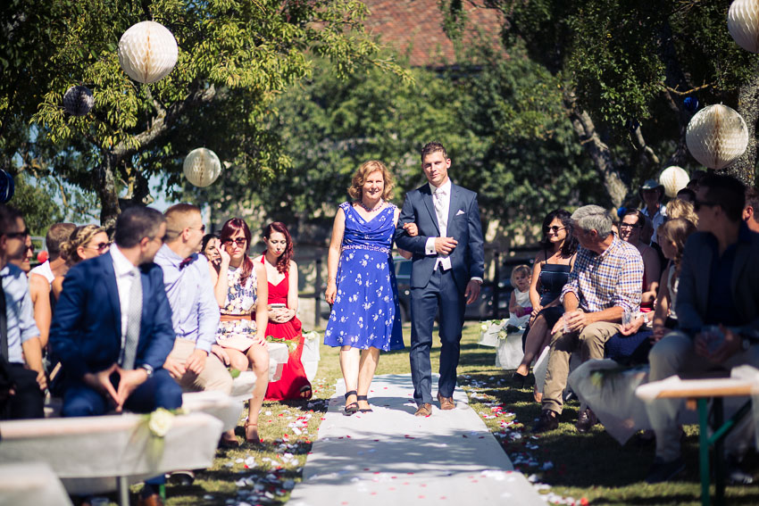 ceremonie mariage en exterieur en suisse