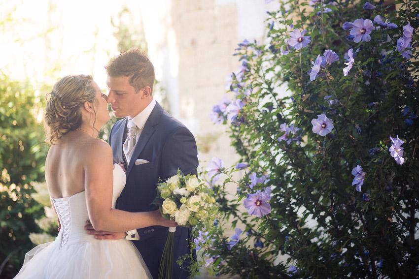 ceremonie mariage en exterieur à Bevaix