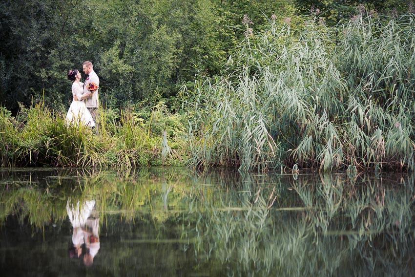 Mariage champêtre dans le Jura