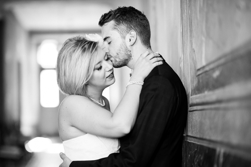 photo de mariage glamour