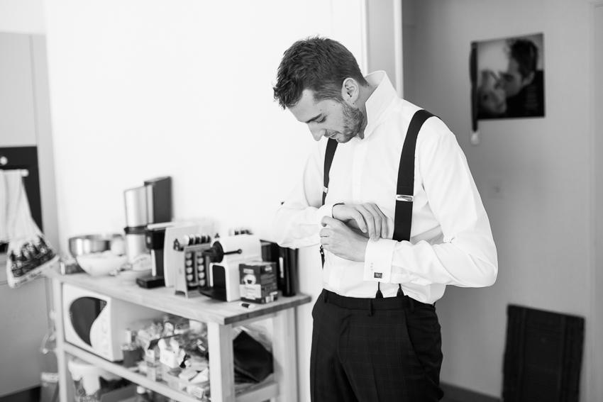 preparation du marié