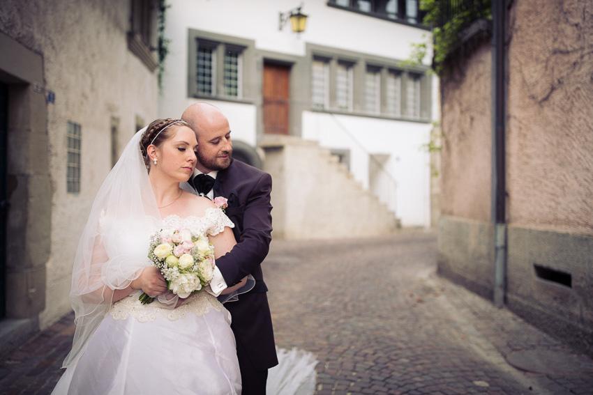 Photographie de mariage glamour