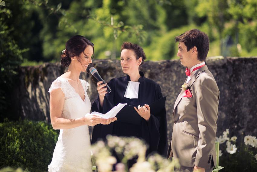 Mariage religieux en extérieur