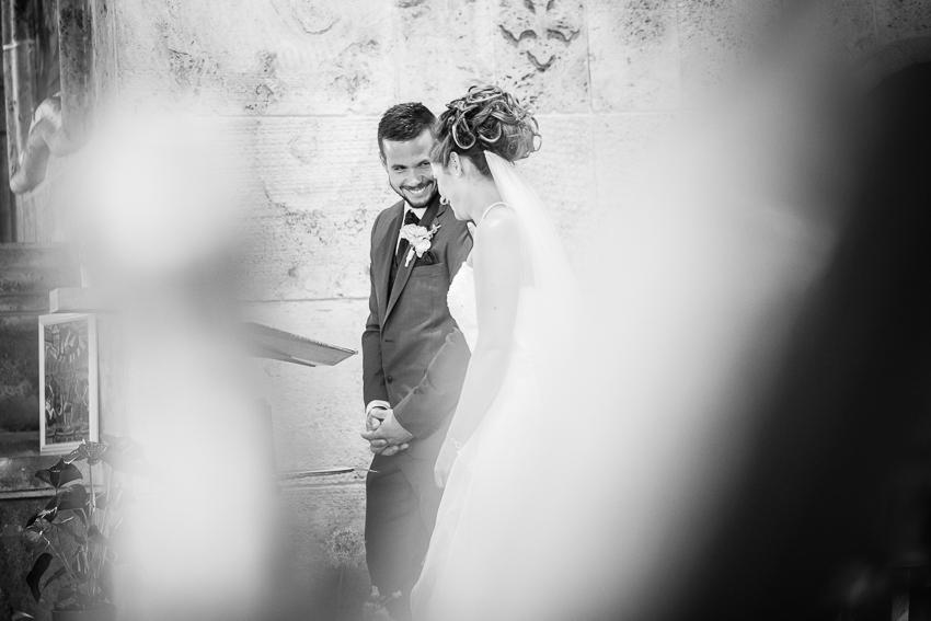 Photographie spontanée de mariage