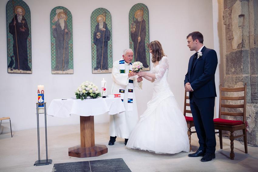 Mariage religieux à Münchenwiler