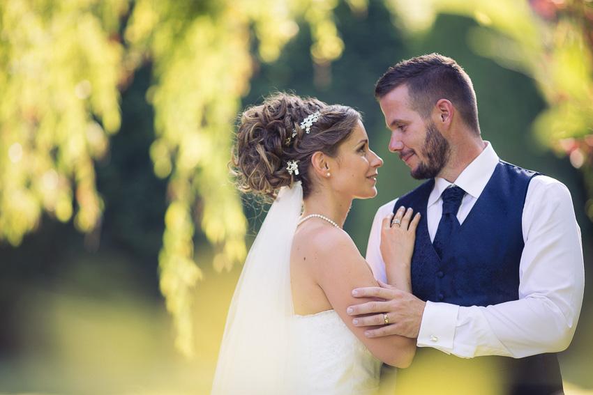 Photo glamour de mariés