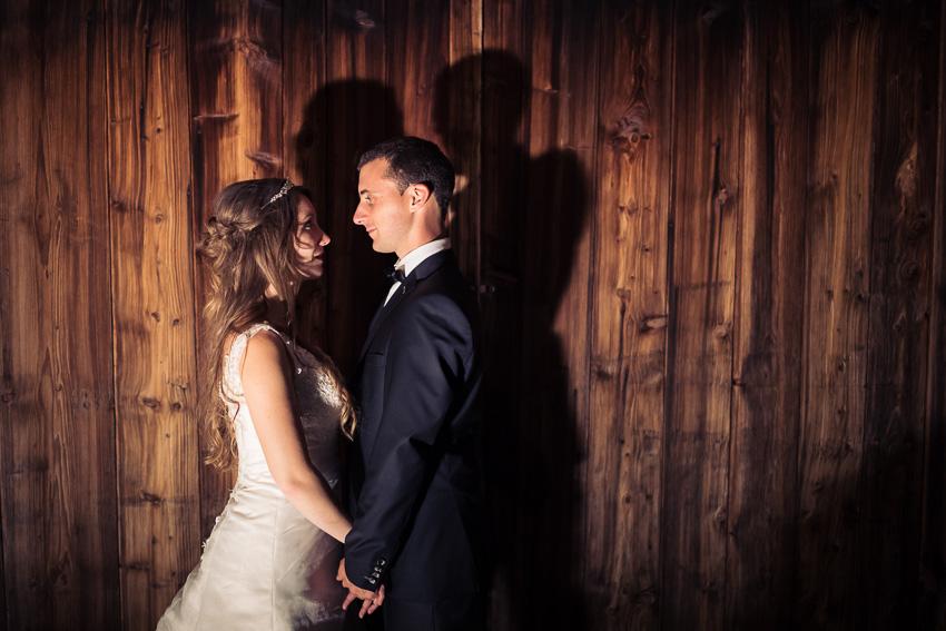 Photo glamour de mariage
