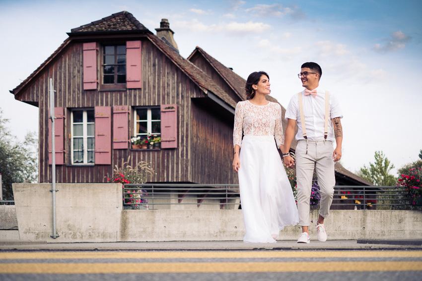 Photographe de mariage à Bienne