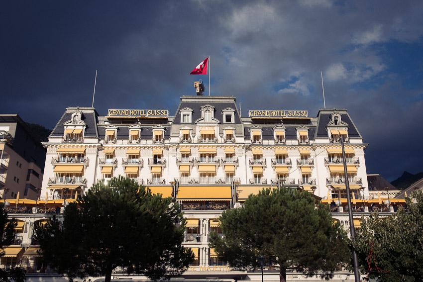 Grand Hotel Suisse Majestic à Montreux