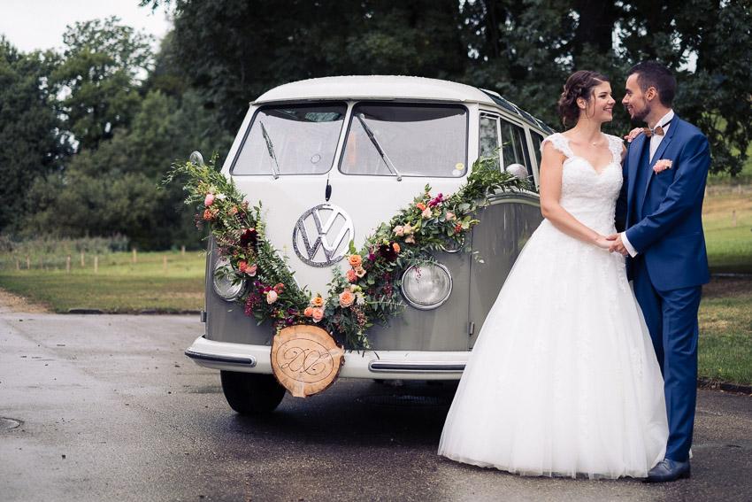 Bus VW pour mariage