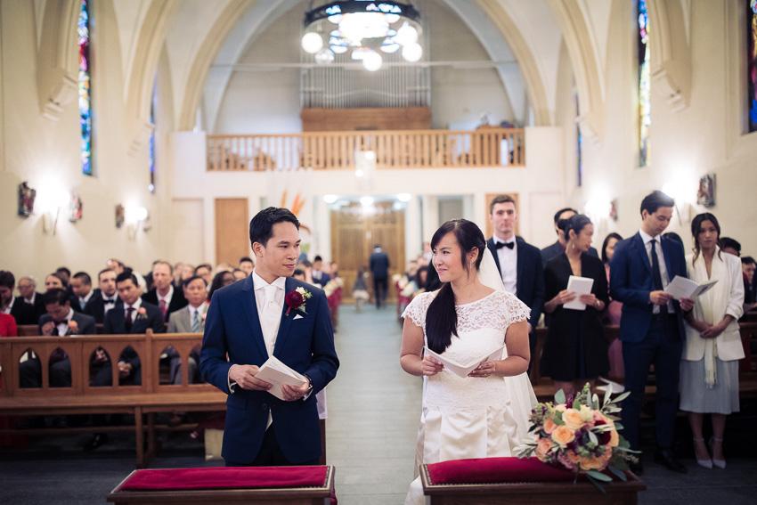 Mariage à l'église du Sacré Coeur de Villeneuve