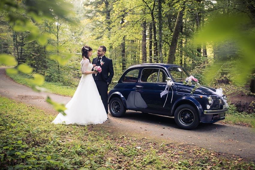 Fiat 500 location mariage